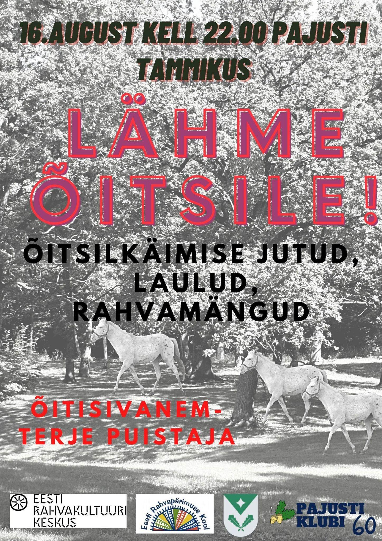 ÕITSILE KUTSE. Kõik fotod ja õitsile kutse - Urmas Lindlo.