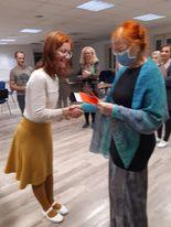 Punased - Agnes ja Terje. Foto Marit Otsing-Saar.