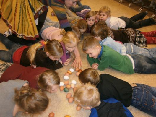 Kevadpühade kombestikuprogramm õpilastele